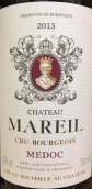 梅尔酒庄红葡萄酒(Chateau Mareil, Medoc, France)