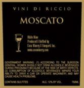 卡瓦维尼底里奇奥莫斯卡托起泡酒(Cava Winery&Vineyard Vini di Riccio Moscato,New Jersey,USA)
