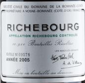 罗曼尼·康帝(李奇堡特级园)干红葡萄酒(Domaine de La Romanee-Conti Richebourg Grand Cru,Cote de ...)
