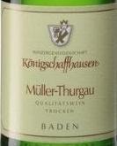 御座酒庄海森贝格米勒-图高白葡萄酒(Winzergenossenschaft Konigschaffhausen Hasenberg Muller-...)