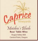 卡普里切少女的脸红桃红葡萄酒(Caprice Vineyards Maidens Blush,Oregon,USA)