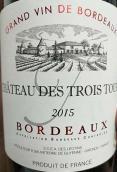 特洛伊斯酒庄干红葡萄酒(Chateau des Trois Tours,Bordeaux,France)