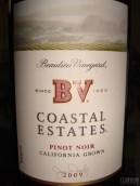柏里欧海岸黑皮诺干红葡萄酒(Beaulieu Vineyard BV Coastal Estates Pinot Noir, Napa Valley, USA)