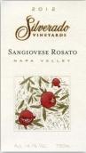银朵酒庄桑娇维塞桃红葡萄酒(Silverado Vineyards Rosato Di Sangiovese, Napa Valley, USA)
