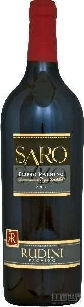 露迪尼酒庄沙罗黑珍珠红葡萄酒(Rudini Eloro Pachino Saro Nero d'Avola,Sicily,Italy)