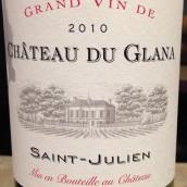格拉娜波尔多混酿干红葡萄酒(Chateau du Glana,Saint-Julien,France)