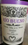 里奥布埃诺佳美娜干红葡萄酒(Rio Bueno Carmenere,Curico Valley,Chile)