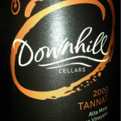 下山丹娜干红葡萄酒(Downhill Cellars Tannat,Alta Mesa,USA)
