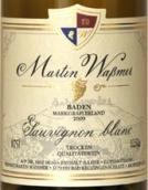 马丁沃斯曼酒庄厄兰侯爵长相思干白葡萄酒(Weingut Martin Wassmer Markgraflerland Sauvignon Blanc QbA ...)