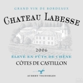 拉白希酒庄干红葡萄酒(Chateau Labesse,Cotes de Castillon,France)