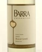 巴拉白麝香干白葡萄酒(Barra of Mendocino Muscat Canelli, Redwood Valley, USA)