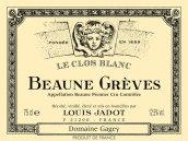 路易亚都格雷芙(伯恩一级园)白葡萄酒(Louis Jadot Greves Le Clos Blanc, Beaune Premier Cru, France)