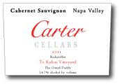 卡特贝克斯道夫教父最佳赤霞珠干红葡萄酒(Carter Cellars Beckstoffer To Kalon Vineyard The Grand Daddy...)