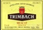 婷芭克世家珍藏麝香干白葡萄酒(F.E.Trimbach Reserve Muscat,Alsace,France)