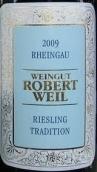 罗伯特威尔传统雷司令白葡萄酒(Weingut Robert Weil Riesling Tradition, Rheingau, Germany)