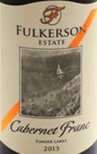 富尔克森酒庄品丽珠干红葡萄酒(Fulkerson Winery Cabernet Franc, Finger Lakes, USA)