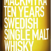 麦克米拉十年瑞典单一麦芽威士忌(Mackmyra Ten Years Swedish Single Malt Whisky,Sweden)