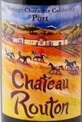 路腾酒庄加利福尼亚年份波特风格加强酒(Chateau Routon Vintage California Port,Sierra Foothills,USA)