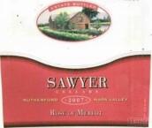 索亚梅洛桃红葡萄酒(Sawyer Cellars Estate Rose of Merlot,Rutherford,USA)