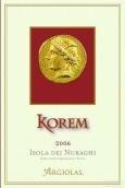 阿吉拉斯科瑞姆红葡萄酒(Argiolas Korem, Sardinia, Italy)