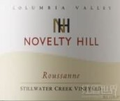 新奇山静溪葡萄园霞多丽干白葡萄酒(Novelty Hill Stillwater Creek Vineyard Roussanne,Columbia ...)