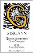 西尼恩赛里欧园琼瑶浆干白葡萄酒(Sineann Celilo Vineyard Gewurztraminer, Columbia Gorge, USA)