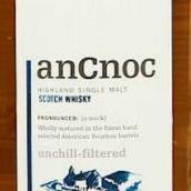 安努克16年苏格兰单一麦芽威士忌(AnCnoc 16 Years Old Single Malt Scotch Whisky,Highlands,UK)