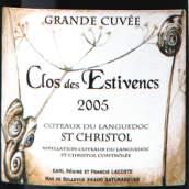 美景园艾斯缇万园圣克里托甜红葡萄酒(Domaine le Clos de Bellevue Les Estivencs Saint-Chriatol,...)