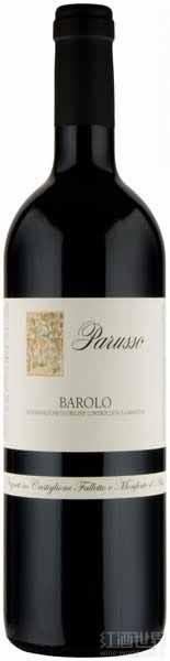 帕鲁索巴罗洛干红葡萄酒(Parusso Barolo DOCG,Piedmont,Italy)