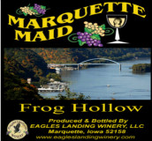 鹰陆马奎特少女青蛙洞干红葡萄酒(Eagles Landing Winery Marquette Maid Frog Hollow,Iwoa,USA)