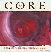 科尔酒庄干白葡萄酒(Core White,Santa Barbara County,USA)