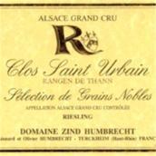 鸿布列什圣乌班园雷司令选粒贵腐甜白葡萄酒(Domaine Zind-Humbrecht Rangen de Thann Clos Saint Urbain ...)