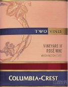 哥伦比亚山峰十号园混酿桃红葡萄酒(Columbia Crest Two Vines Vineyard 10 Rose, Washington, USA)