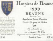 Hospices de Beaune Beaune Premier Cru Cuvee Guigone de Salins, Cote de Beaune, France