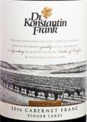 康斯坦丁•弗兰克品丽珠红葡萄酒(Dr. Konstantin Frank Cabernet Franc, Finger Lakes, USA)