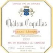 法兰西酒庄副牌干红葡萄酒(Chateau Coquillas,Pessac-Leognan,France)