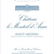 蒙萨克酒庄干红葡萄酒(Chateau Le Monteil d'Arsac,Haut-Medoc,France)