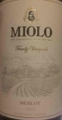米洛梅洛干红葡萄酒(Miolo Family Vineyards Merlot,Campanha,Brazil)