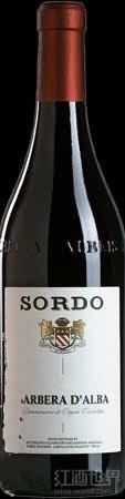 乔瓦西索多酒庄巴贝拉干红葡萄酒(Giovanni Sordo Barbera d'Alba,Piedmont,Italy)