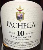 帕奇卡10年茶色波特(Quinta da Pacheca 10 Year Old Tawny Port,Douro,Portugal)