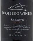 罗伊博格珍藏皮诺塔吉干红葡萄酒(Rooiberg Winery Reserve Pinotage, Robertson, South Africa)