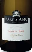 圣安纳马尔贝克桃红起泡酒(Bodegas Santa Ana Rose Malbec, Mendoza, Argentina)