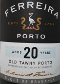弗雷拉布拉干萨公爵20年茶色波特酒(Ferreira Duque de Braganca 20 Years Old Tawny Port,Oporto,...)