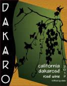 达卡洛桃红酒葡萄酒(Dakaro Cellars Dakarose,California,USA)