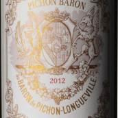 碧尚男爵酒庄红葡萄酒(Chateau Pichon-Longueville-Baron, Pauillac, France)