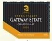 捷威霞多丽干白葡萄酒(Gateway Estate Chardonnay,Yarra Valley,Australia)
