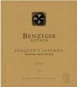 本齐格华金地狱干红葡萄酒(Benziger Family Winery Joaquin's Inferno,Sonoma Mountain,USA)