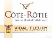 威代尔-弗勒里酒庄干红葡萄酒(Maison Vidal-Fleury,Cote Rotie,France)