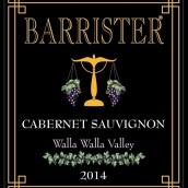 律师赤霞珠干红葡萄酒(Barrister Winery Cabernet Sauvignon, Walla Walla Valley, USA)