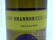 香农山瑚珊干白葡萄酒(Shannon Ridge Roussanne,Lake County,USA)